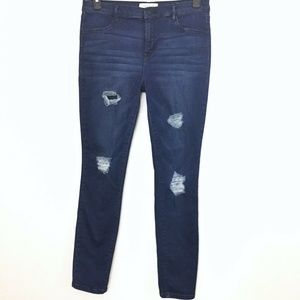 PacSun ripped Destroyed jegging jeans ladies 30